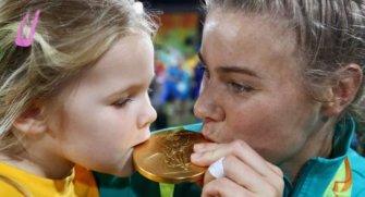 Brezilya´da gerçekleşen olimpiyat oyunlarında başarıya ulaşanların mutluluklarını aileleriyle paylaştığı anlar...