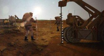 Bilim insanları, Mars'ın yüzeyine çok yakın donmuş su kütlesi buldu. Detayları buyrun yazımızda okuyalım.